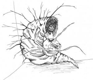 Dibujo por Miguel Delgado
