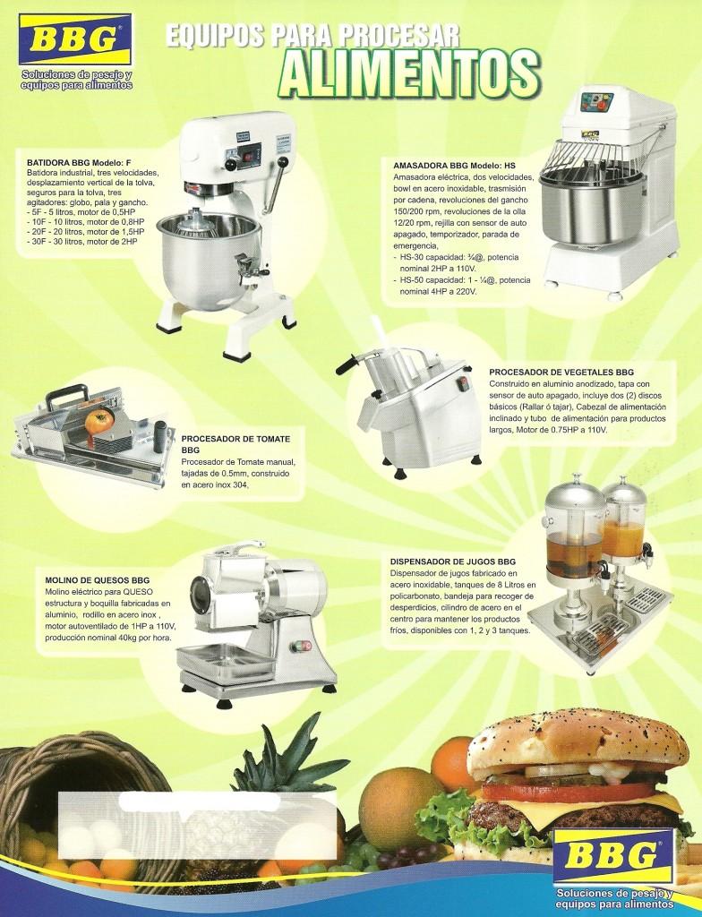 Batidora - Amasadora - Procesador De Tomate - Procesador De Vegetales - Molino De Quesos - Dispensador De Jugos